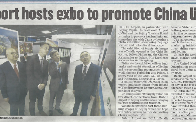 Airport hosts exbo to promote  China links
